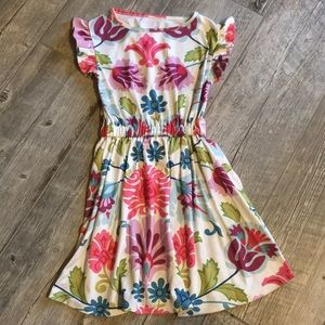 Persnickety • floral patterned dress • 7 • EUC •